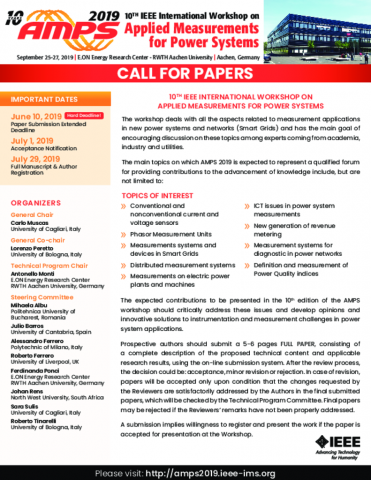 Call for Papers | AMPS 2019